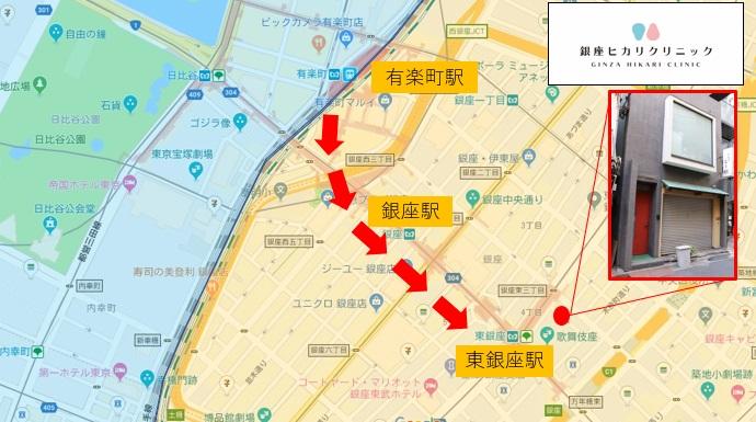 晴海通りを銀座方面、東銀座方面へ歩き、銀座駅近くの銀座三越を目指します。