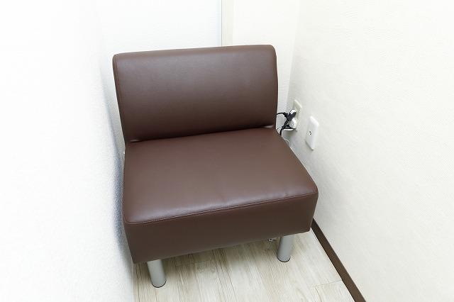 個室の待合室