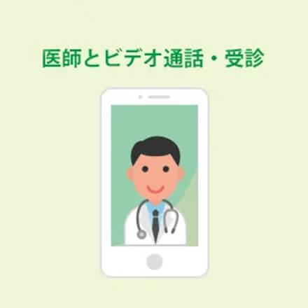 医師とビデオ通話・受診
